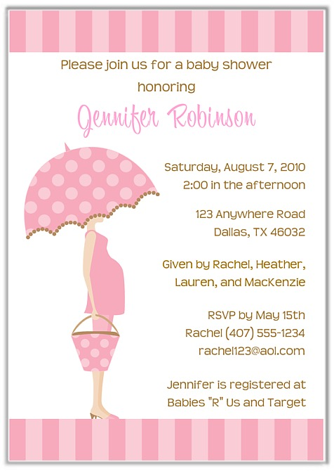 Mod mom pink trendy baby shower invitations girl baby shower filmwisefo