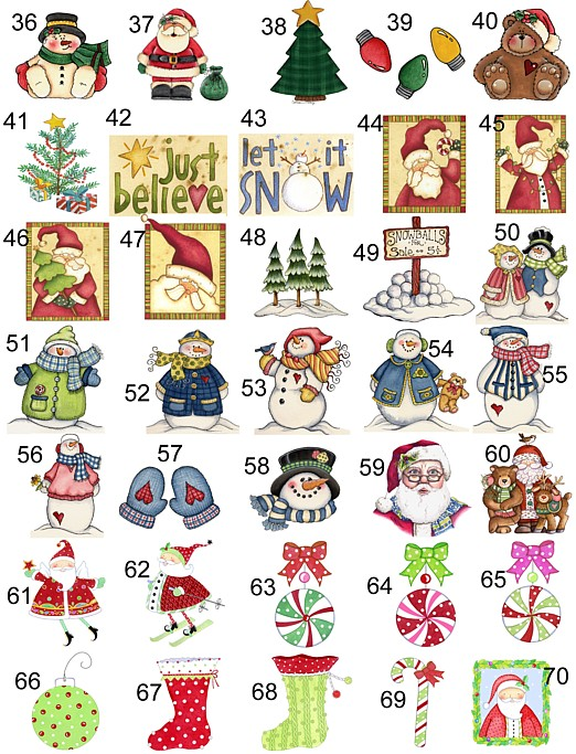 Christmas Party Scratch Off Cards Game Tickets
