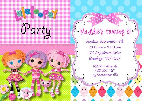 Lalaloopsy Invitations was adorable invitations example