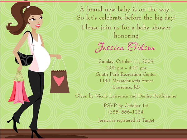 Mod mom baby shower invitations baby shower filmwisefo Choice Image