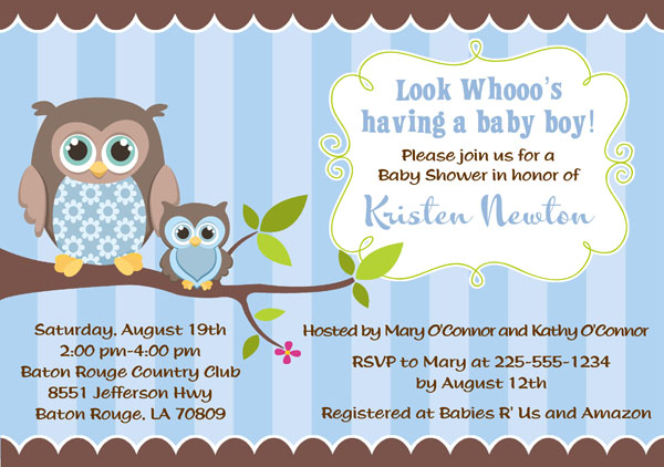 Owl baby shower invitations boy baby shower catalog owl baby shower invitations boy this filmwisefo
