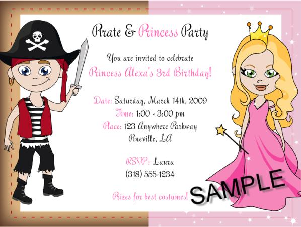 Pirate princess party invitations pirate princess party invitations photo16 filmwisefo