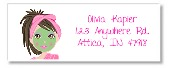 Spa Makeover Return Address Labels
