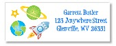 Space Return Address Labels