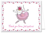 Angelina Ballerina Thank You Note Cards