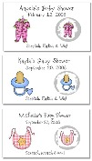 Baby Shower Scratch Off GameTickets Personalized