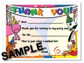 Barnyard Animals Thank You Cards