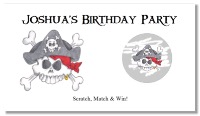 Pirate Scratch Off Tickets Personalized