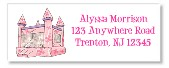 Bounce House Castle Inflatable Return Address Labels