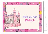 Bounce House Inflatable CastleThank You Note Cards