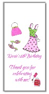 Glamour Girl Makeup Dress Up Birthday Mini Candy Wrappers Favors