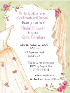 Bridal Gown Shower Invitations