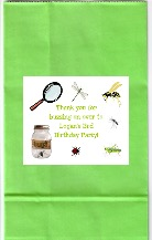 Bugs Insects Nature Birthday Party Goodie Loot Bag Labels