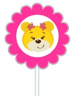 Build a Bear Workshop Cupcake Toppers