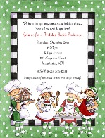 Christmas Cookie Swap Exchange Invitations