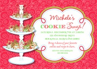 Christmas Cookie Swap Invitations