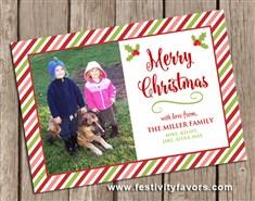 Christmas Holiday Photo Cards