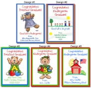 Kindergarten Preschool Graduation Crayon Box Labels Favors
