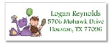 Dinosaur Return Address Labels