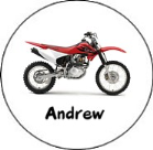 Dirt Bike Round Envelope Seals