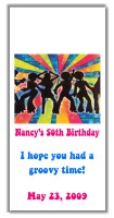 Disco Party Birthday Mini Candy Wrappers Favors