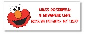 Elmo Return Address Labels