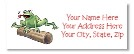 Frog Return Address Labels
