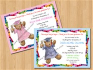 Kindergarten Preschool Graduation Invitations New