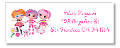 Lalaloopsy Return Address Labels