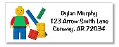 Lego Return Address Labels