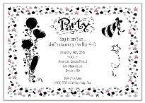 Adult Any Age Over the Hill 30th 40th 50th 60th Birthday Invitations