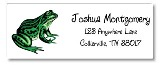 Reptile Frog Return Address Labels