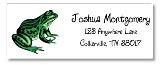 Reptile Frog Return Address Labels