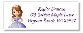 Sofia the First Return Address Labels