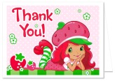 Strawberry Shortcake Thank You Note Cards