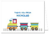 Choo Choo Train Thank You Note Cards